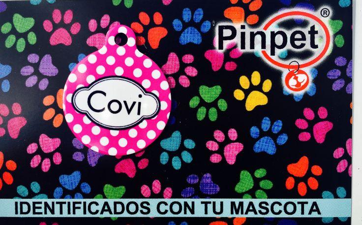 Placas para mascoras modelo Fashion de Pinpet.