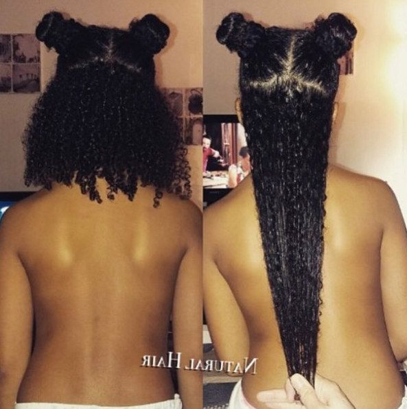 17 Photos That Explain Shrinkage To People Who Don't Understand Black Hair
