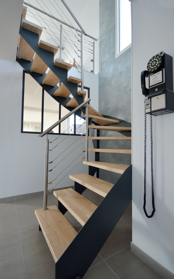 37 best Nos escaliers images on Pinterest   Stairs, Custom made ...