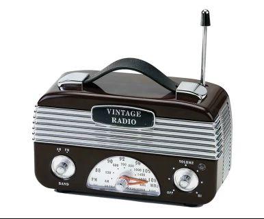 Rádio Vintage - Marrom