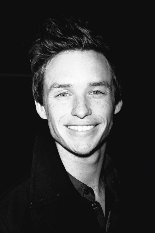Eddie Redmayne/I've just adored him for so long. And now he is officially one of my favorite actors ever.