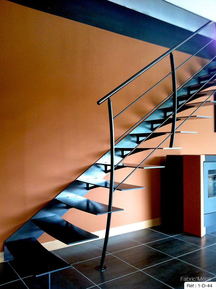 17 beste ideeën over Escalier Droit op Pinterest - Escalier tournant ...