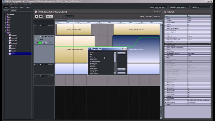 FMOD Tutorial 5 - Introduction To Multitrack Events