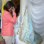 La Gobernadora junto a los empleados de Casa de Gobierno honraron a la Virgen del Valle
