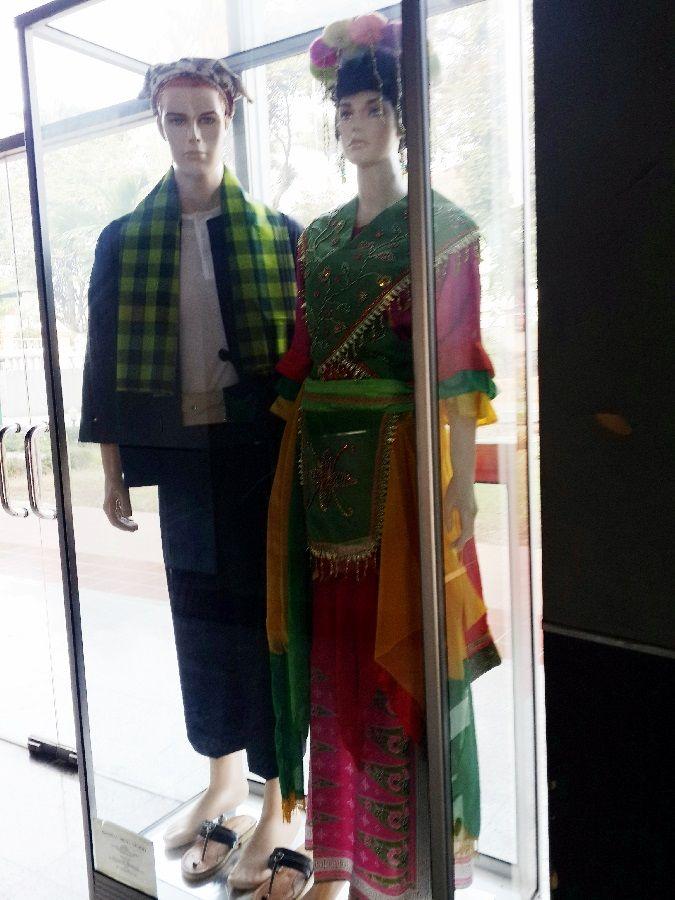"""Pakaian tari tradisional betawi """" Tari Topeng betawi"""" #KhasBetawi"""