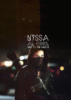 nyssa al ghul #arrow