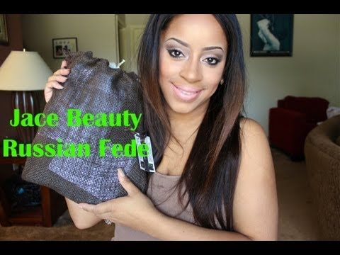 JACE BEAUTY FIRST LOOK | Russian Fede | Wavy Curly