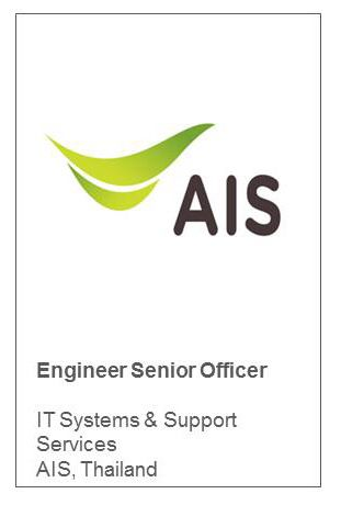 Engineer Senior Officer IT Systems & Support Services AIS, Thailand