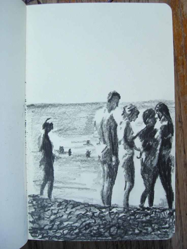 Moleskine #k14 graphite pencil drawing