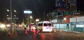Confirma Policía Vial Estatal, ocho conductores fueron detenidos en el operativo alcoholímetro