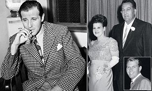 Benjamin 'Bugsy' Siegel, 41, was shot dead in his girlfriend Virginia Hill's Beverly Hills home, just south of Sunset Boulevard, on the night of June 20, 1947.