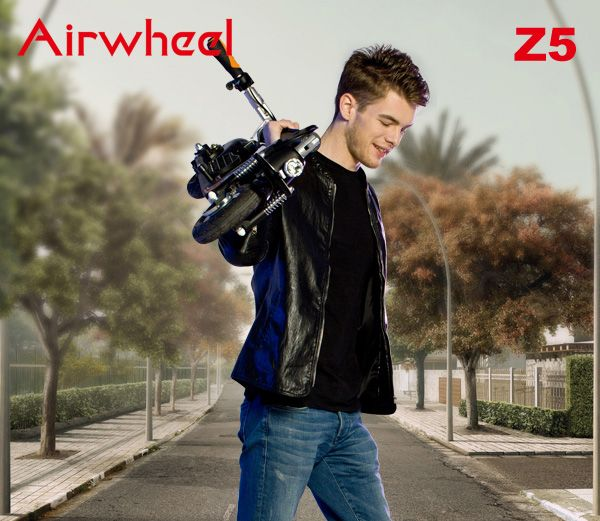 #Airwheel Z5 cheap electric #scooters easy to carry