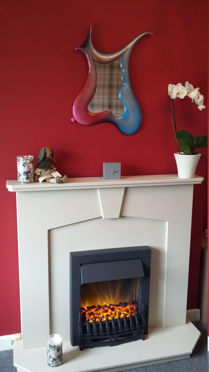 Beautiful Dali mirror in a home setting... MarvellousMirrors.com