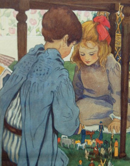 Image detail for -name jessie willcox smith 1863 1935 info watercolor on paper 9 x 8 ...