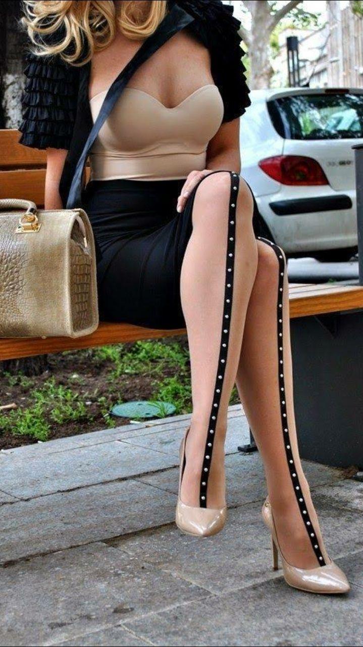 Woman Pantyhose For Men 24