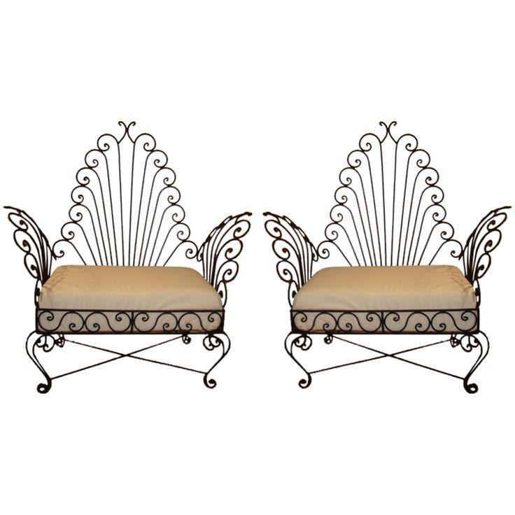 Best 25 Wrought Iron Chairs Ideas On Pinterest Iron Chairs Wrought Iron Paint And Wrought