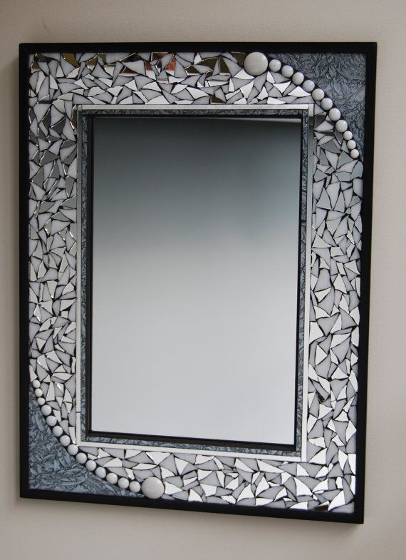 mosaic mirror by GradaMosaics on Etsy, $170.00