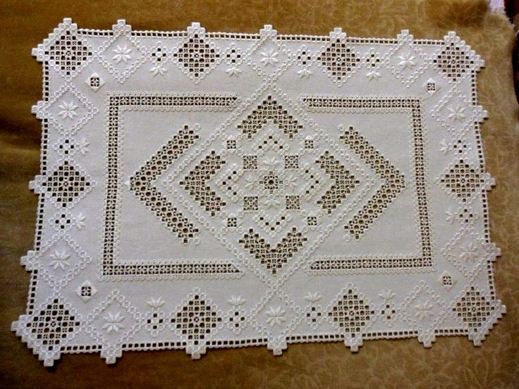 Hardanger tablecloth