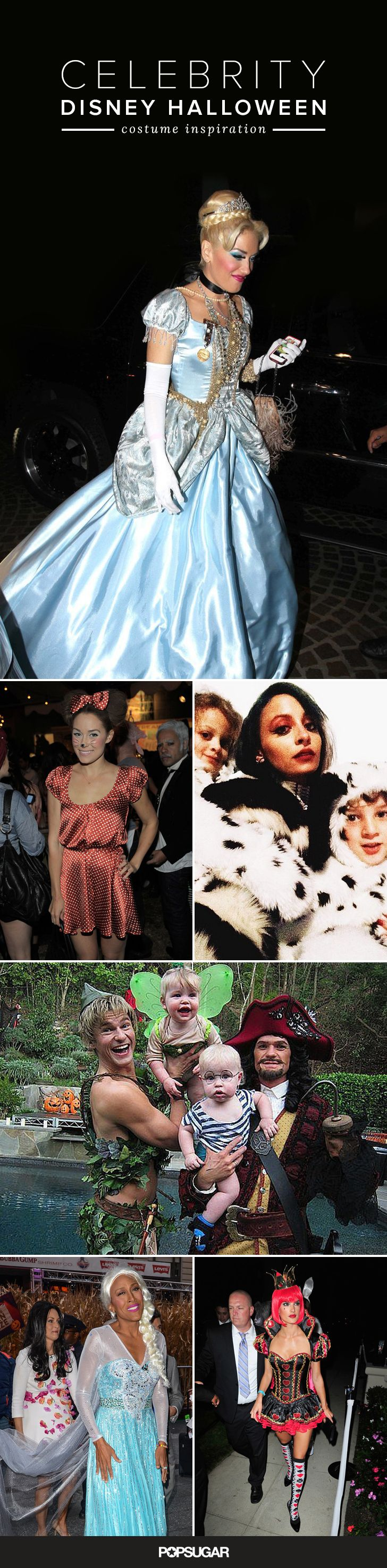 Get your Disney Halloween costume inspiration from the stars!