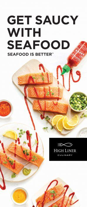 Salmon and sirarcha. Photo by Maya Visnyei.