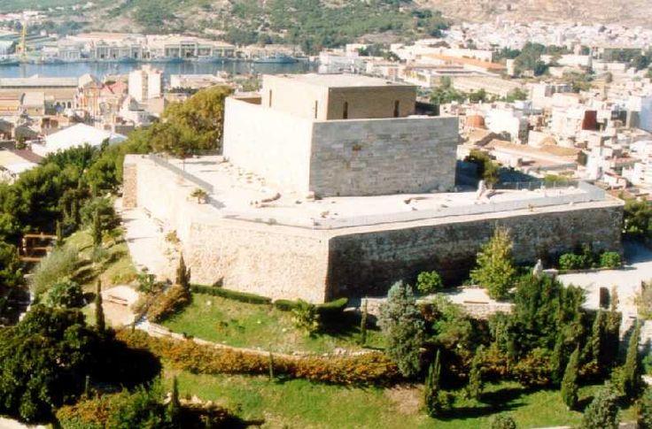 Antiguo Monte Fenicio.Culto a la deidad de la muerte.Cartagena.Spain.