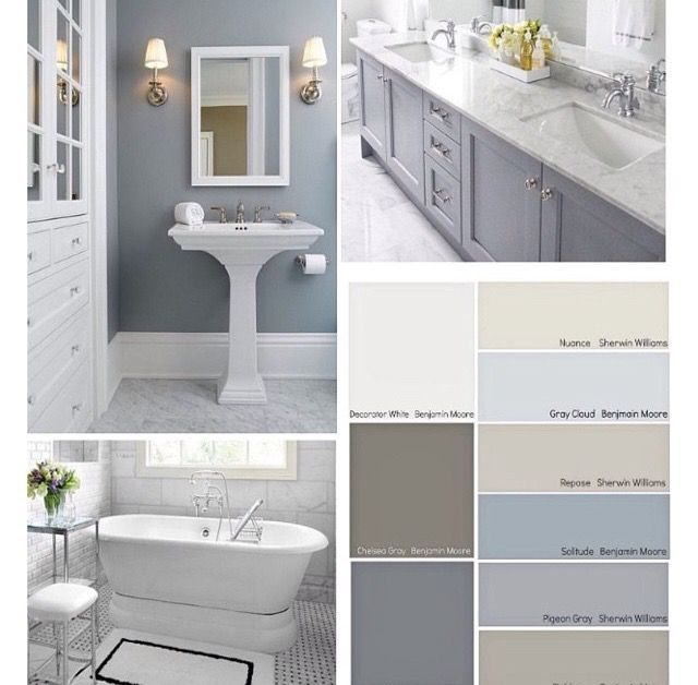 Most Popular Small Bathroom Remodel Ideas On A Budget In 2018 This Beautiful Look Was Created With Cool Bathroom Colors Bathroom Paint Colors Painting Bathroom
