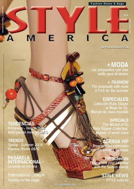 STYLE AMERICA fashion cover Louis Vuitton