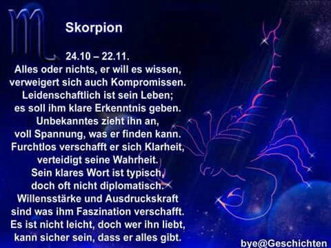 Skorpion Frau Horoskop Heute