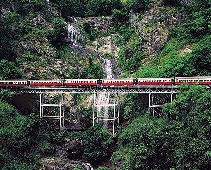 The Kuranda Scenic Railway, near Cairns, Queensland