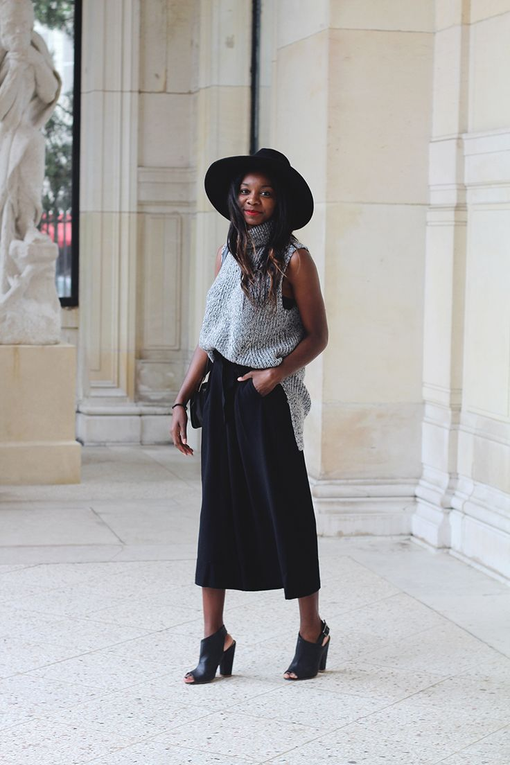 jupe culotte 3 suisses minimal outfit