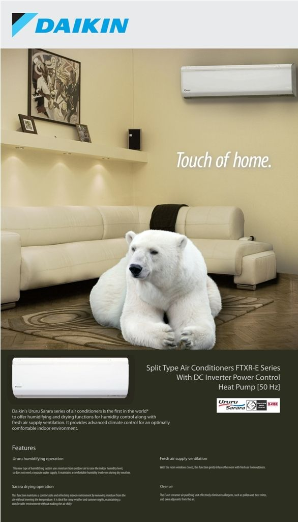 Daikin Newspaper Ad