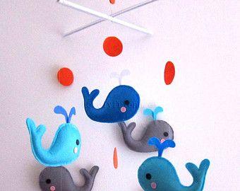 Baby Crib Mobile Baby Mobile Nursery Decorate por lovelyfriend