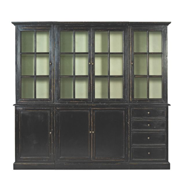 Countryside Biblioteksskåp stort - Vit - TheHome - Möbler online #skåp