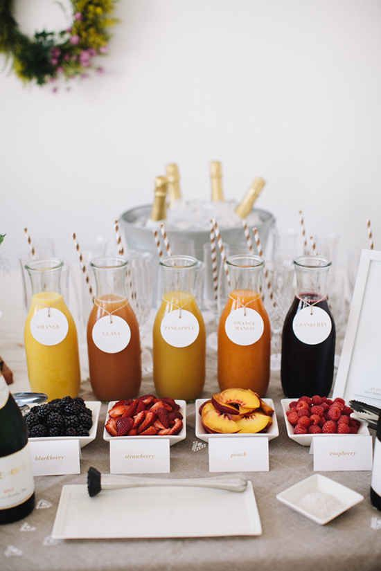 Mimosa Bar | Top 10 Beautiful Brunch Bars