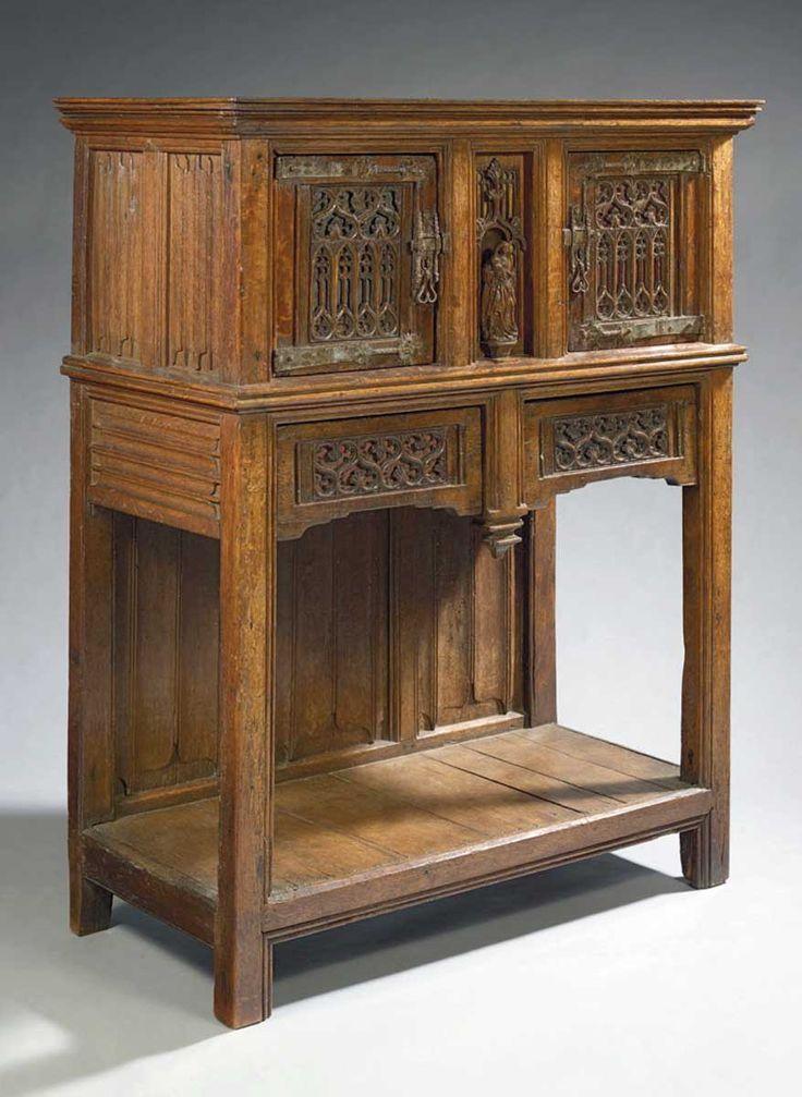 credence moyen age recherche google gothic renaissance baroque furniture pinterest. Black Bedroom Furniture Sets. Home Design Ideas