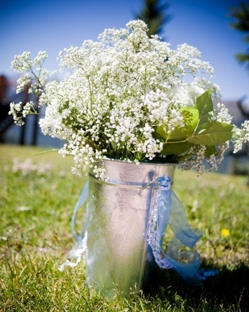 Image result for galvanised buckets for weddings