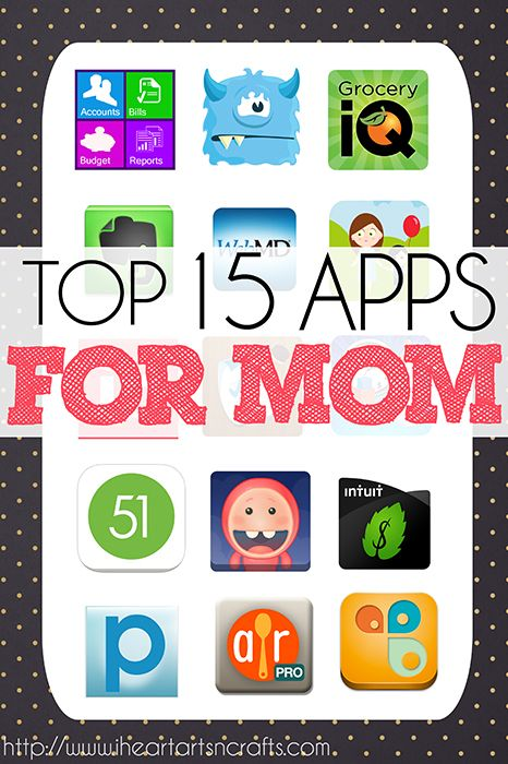 A list of some of the best iPhone, iPad, and Android apps for moms. Make your life a little easier with some of the best apps for organizing, budgeting, and much more!