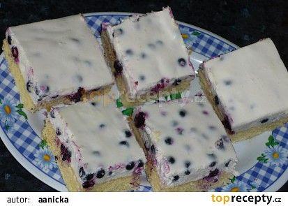 Borůvkové kostky recept - TopRecepty.cz