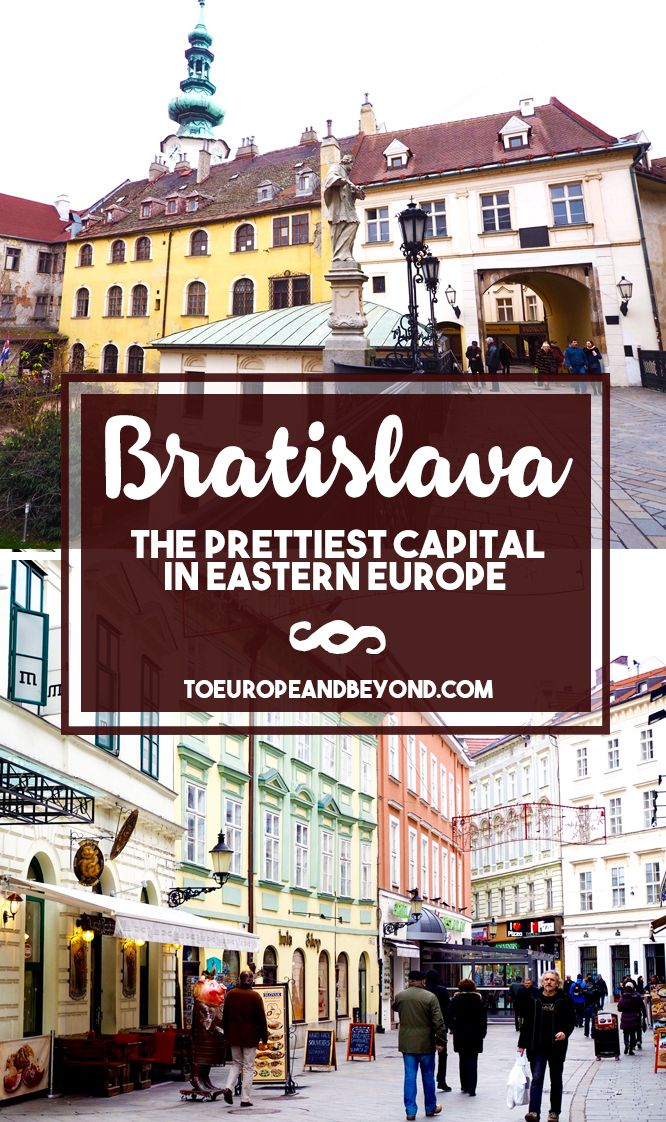 http://toeuropeandbeyond.com/bratislava-new-favourite-city-eastern-europe/ Due to lack of time, I ended up leaving Bratislava not knowing a whole lot more about it, aside from the fact that it's an absolute gem and that I will need to come back in summertime for a proper visit. #travel #Europe