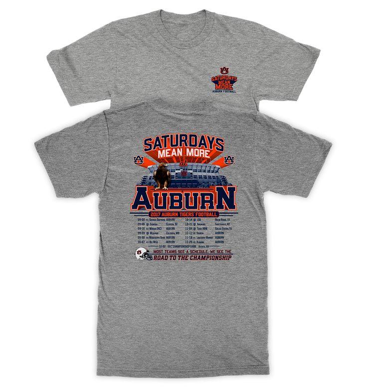 Auburn Schedule 2017