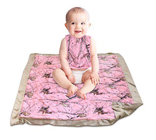 Pink Mossy Oak Baby Blanket and Bib Set 2PC Gift Camo Chique Boutique http://www.amazon.com/dp/B00KU2WG46/ref=cm_sw_r_pi_dp_sCTVwb1XDYACM