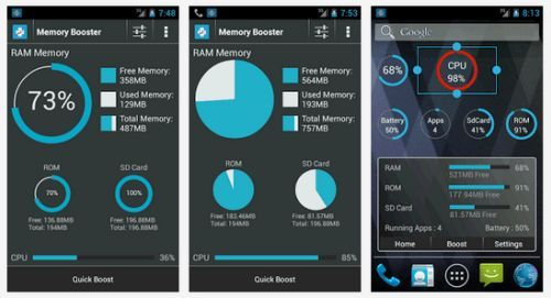 Скачать приложение Ram Memory Booster для планшета Андроид бесплатно