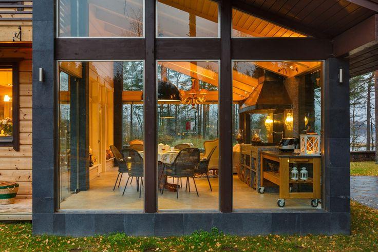 Фото фасада дома в современном стиле
