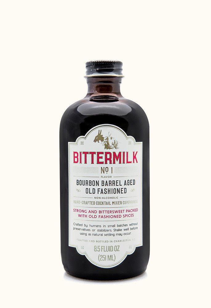 Bittermilk- No. 1 Bourbon Barrel Aged Old Fashioned