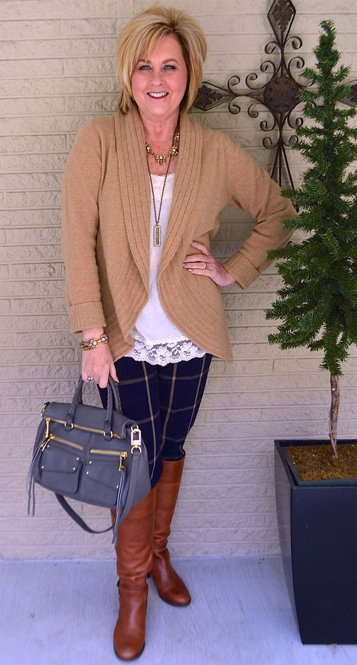 50 IS NOT OLD | SOAR IN 2017 | Cashmere | Plaid | Casual & Stylish | Fashion over 40 for the everyday woman