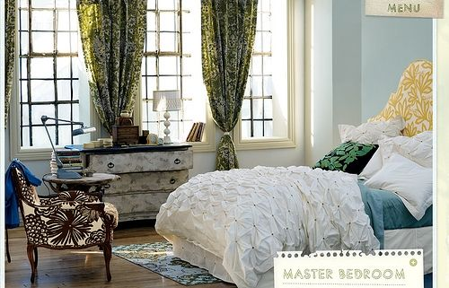 anthropologieDreams Bedrooms, Ideas, Anthropology, White Beds, Colors Schemes, Anthropology Bedrooms, Master Bedrooms, Dreams Room, Bedrooms Decor