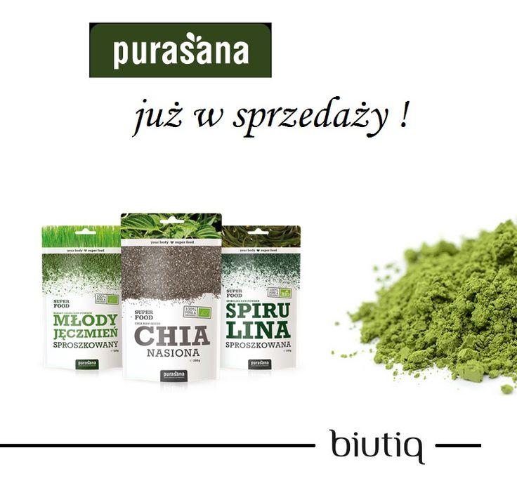 Purasana - smart food najlepszej jakości :) zapraszamy po zdrowie do biutiq!
