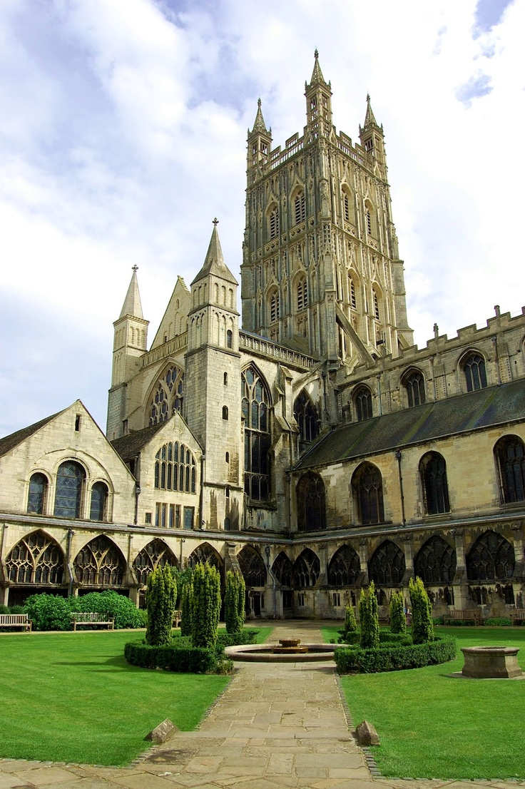 Gloucester Cathedral, Gloucestershire, England