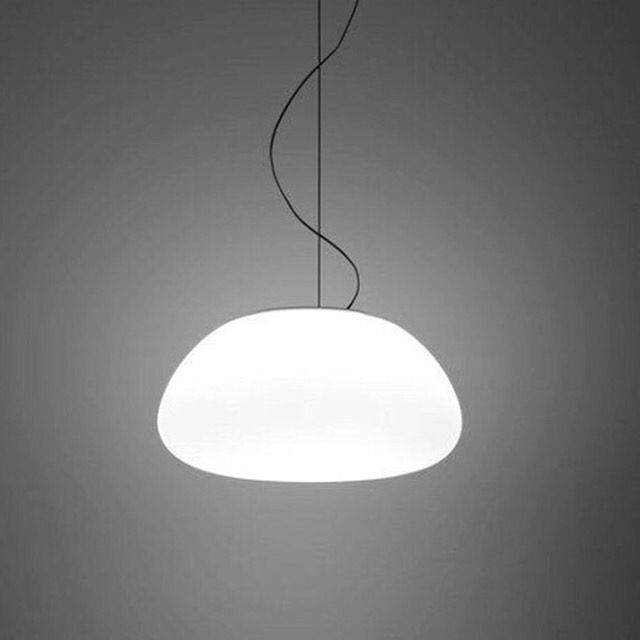 The Egg 420 pendant from Ubercool. This beautifully shaped opaque glass pendant gives off a stunning soft ambient light, and it's pretty cool too. Check out www.ubercool.co.nz for cool affordable lighting guaranteed.  #lighting #nzdesign #interiordesign #pendantlights #coolpendantlights #tablelights
