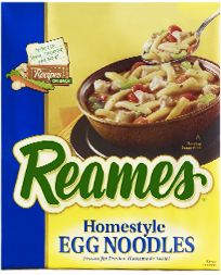 Reames® Frozen Egg Noodles - if you can't do homemade, these are the next best thing.